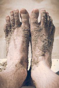 voeten-in-zand